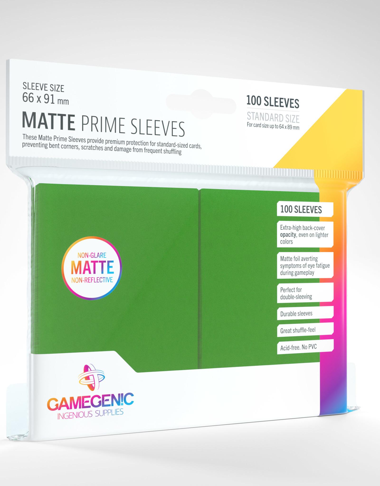 Deck Protectors: Matte Prime (100) Green