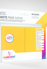 Sleeves: Matte Prime (100) Yellow