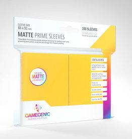 Deck Protectors: Matte Prime (100) Yellow