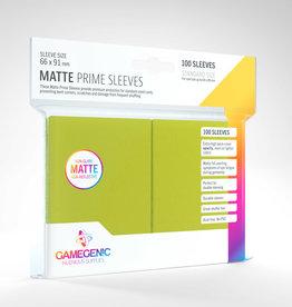 Sleeves: Matte Prime (100) Lime