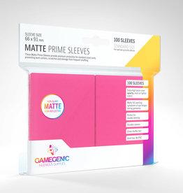 Sleeves: Matte Prime (100) Pink