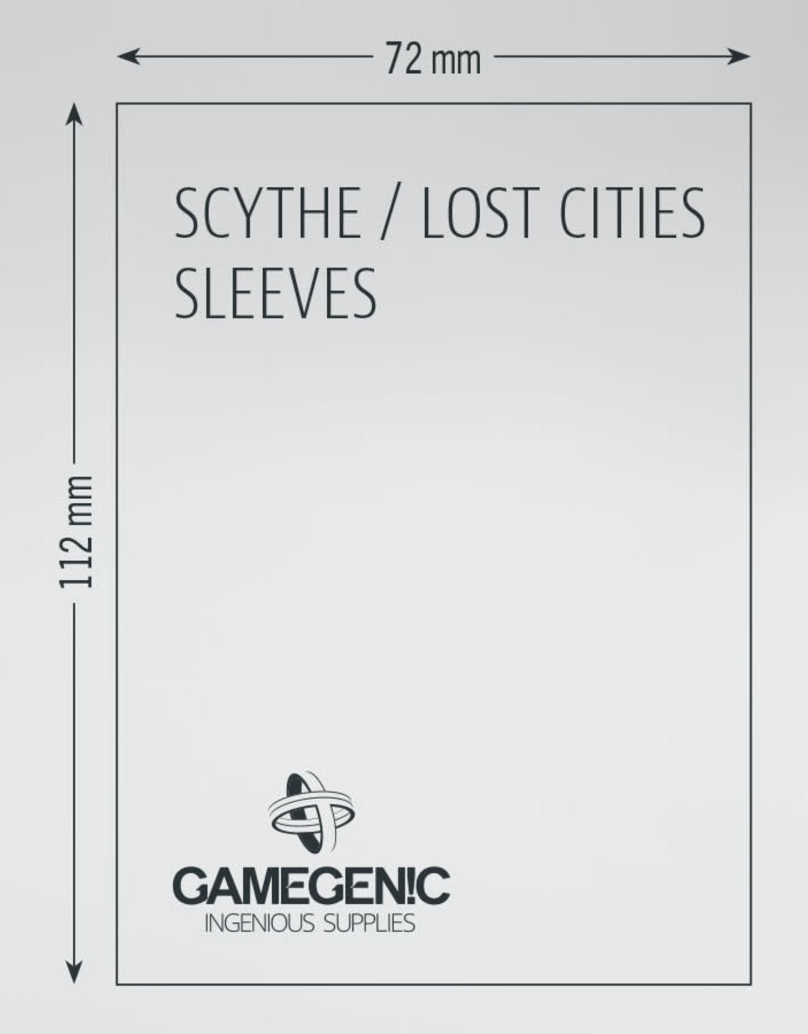 Prime Board Game Sleeves: Scythe / Lost Cities (60) (Magenta)