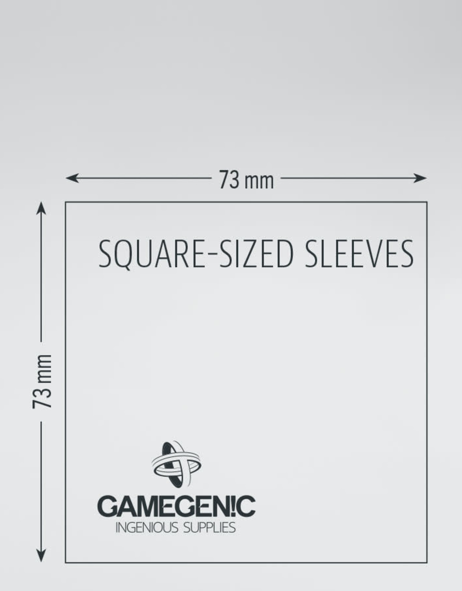 Prime Board Game Sleeves: Square-Sized 73mm x 73mm (50) (Blue)