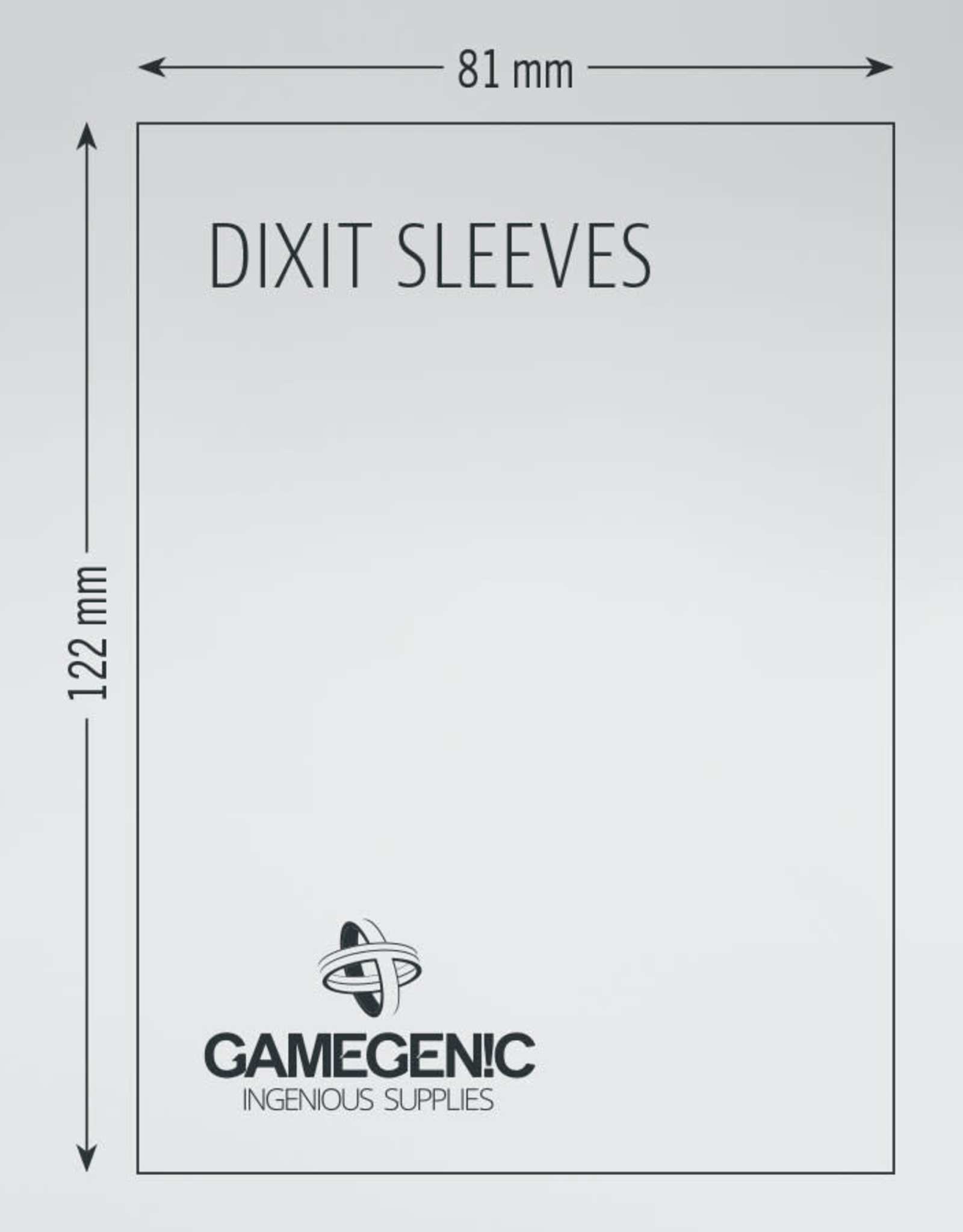 Matte Board Game Sleeves: Dixit / Mysterium (90) (Sand)