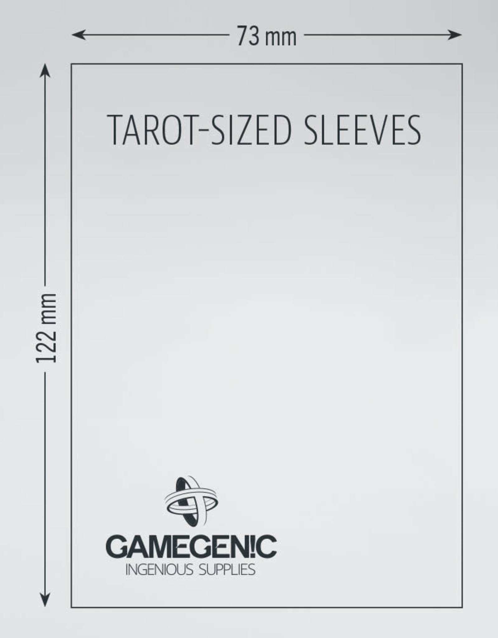 Matte Board Game Sleeves: Tarot (50) (Orange)