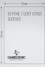 Matte Board Game Sleeves: Scythe / Lost Cities (60) (Magenta)