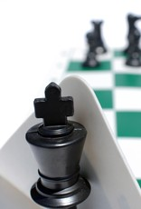 Chess Set: Ultimate Silicone Travel Green