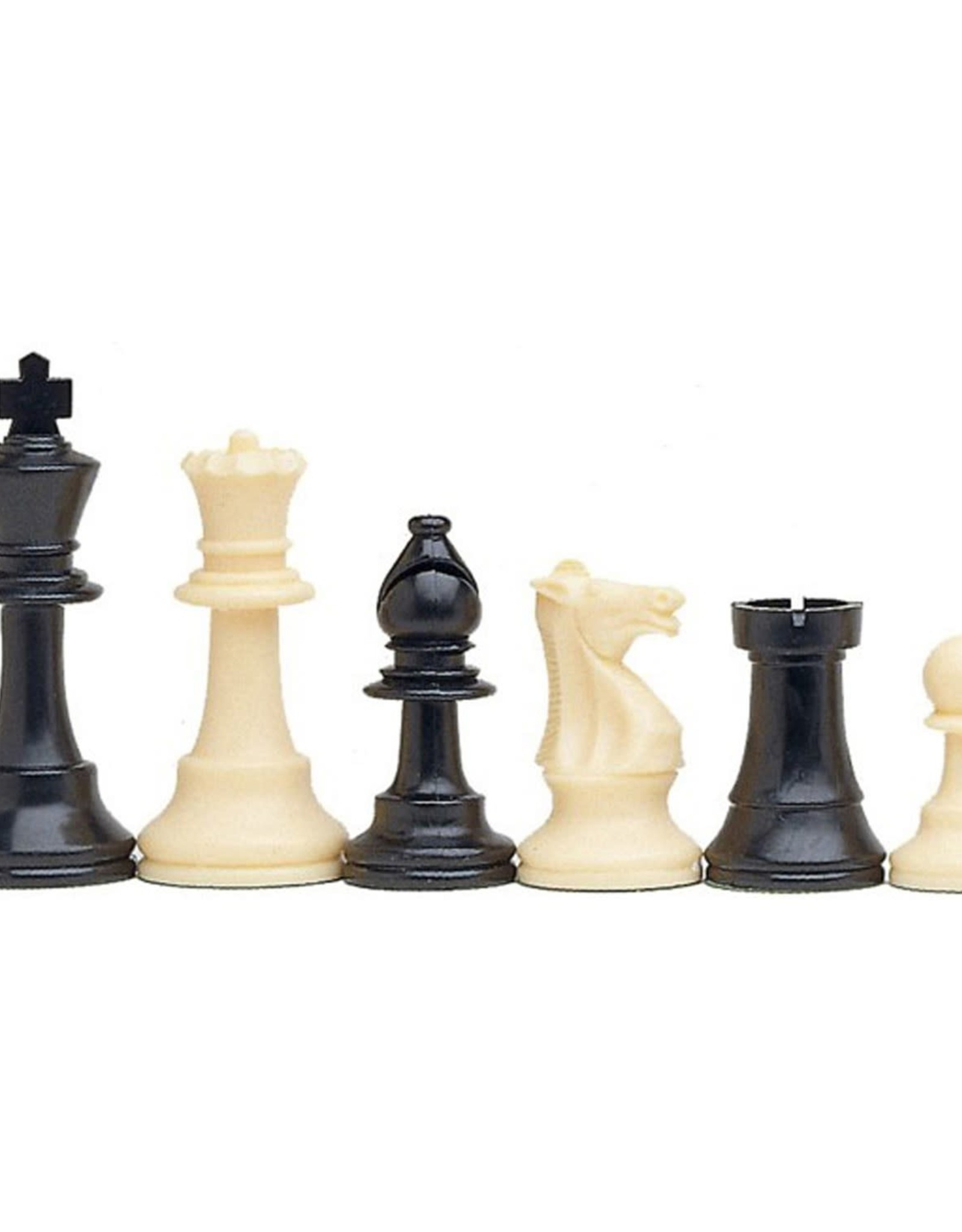 Chess Set: Tournament Travel with Black Canvas Bag