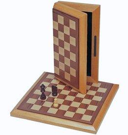 Chess Set: 10.75 in Folding Board