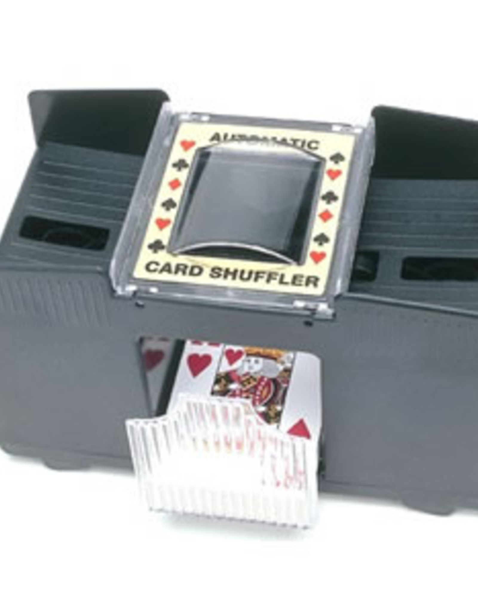 4-Deck Shuffler Battery Operated (4 C Batteries Not Included)