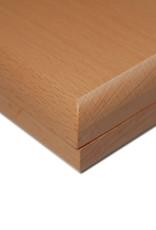 Mancala Wood Folding Board: Tan