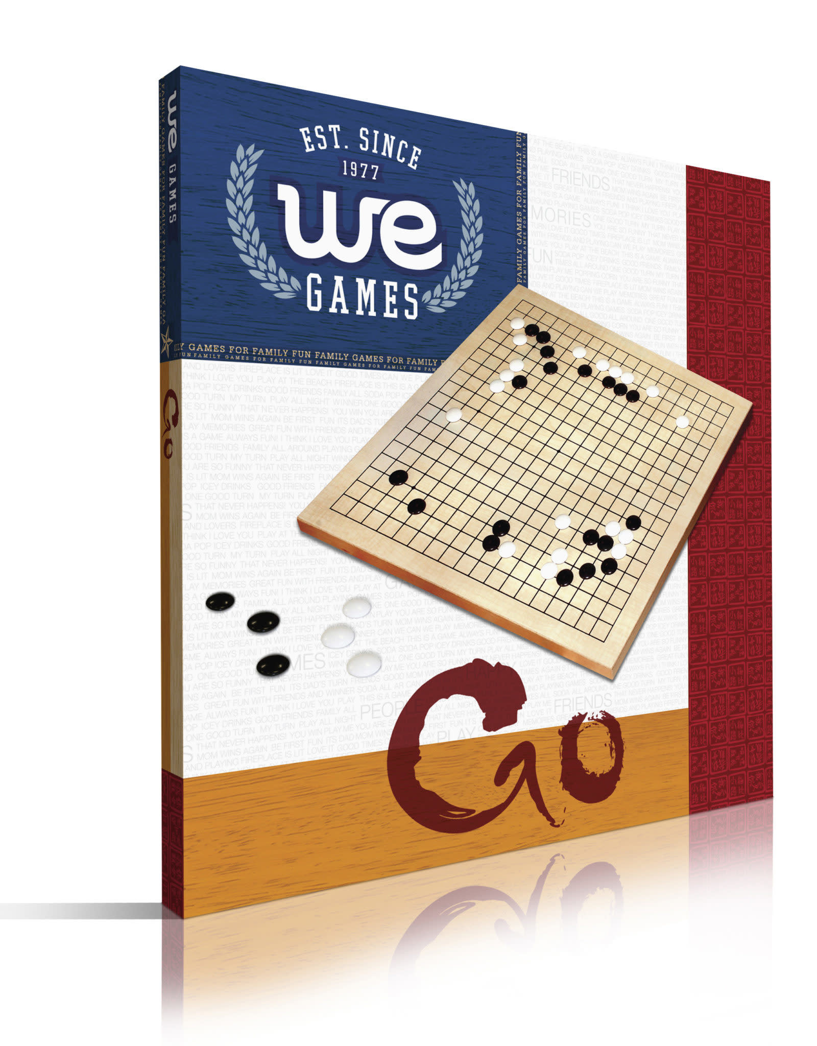 Wooden GO Game Best Beginner Set 12 in.
