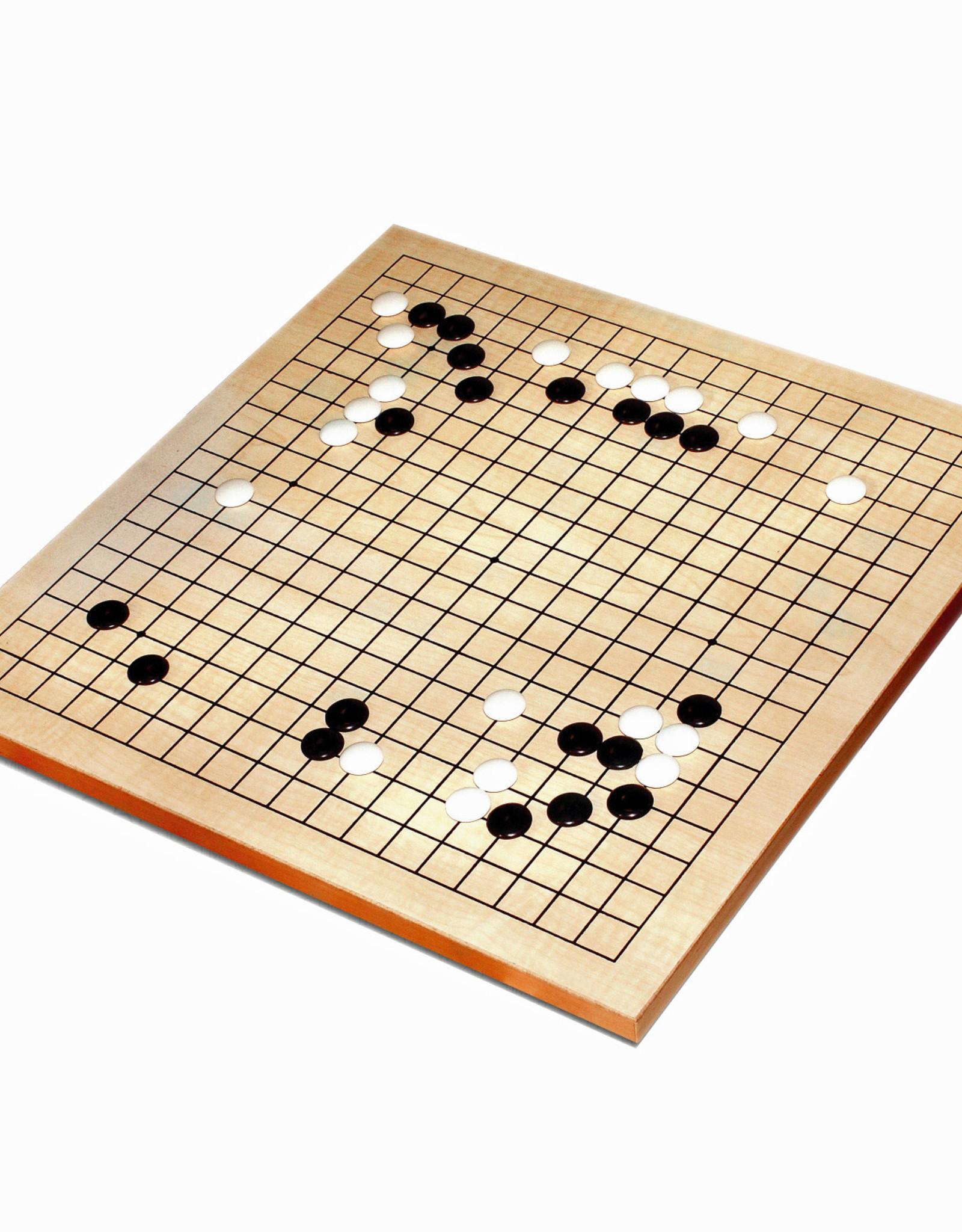 Wooden GO Game Best Beginner Set 12 in.
