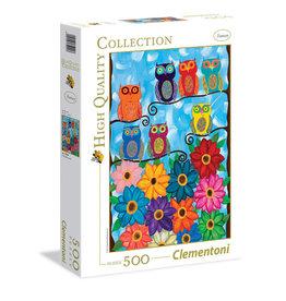 Clementoni Cute Little Owls 500 PCS