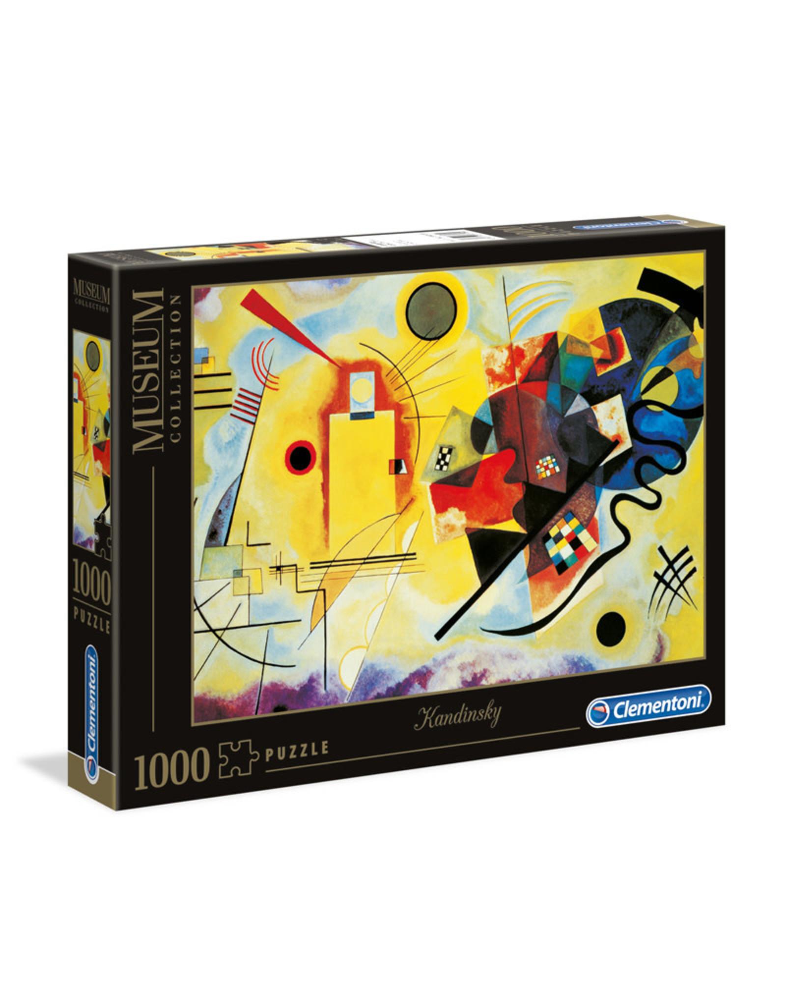 Clementoni Kandinsky Yellow, Red, Blue 1000 PCS