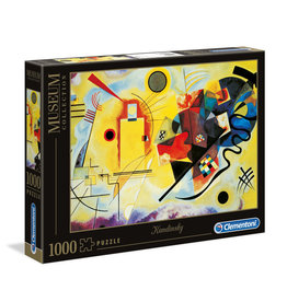 Clementoni Kandinsky Yellow, Red, Blue 1000 PCS