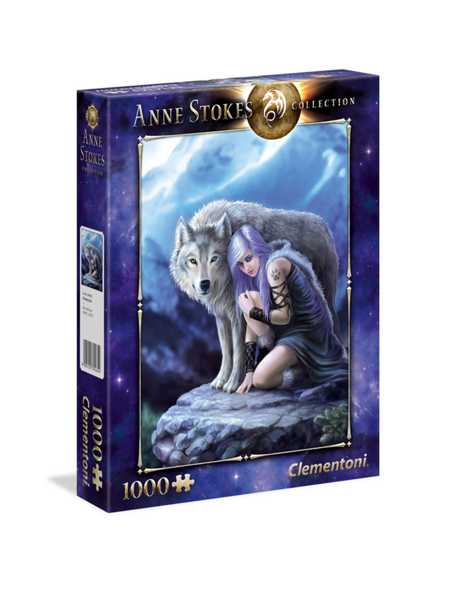 Clementoni Anne Stokes Protector 1000 PCS