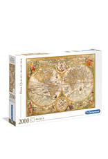Clementoni Ancient Map 2000 PCS
