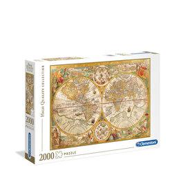 Clementoni Ancient Map Puzzle 2000 PCS