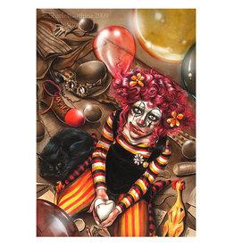 Ricordi Clown Girl Puzzle 500 PCS (Gothica)