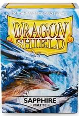 Arcane Tinmen Deck Protectors: Dragon Shield Matte (100) Sapphire