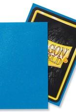 Arcane Tinmen Sleeves: Dragon Shield Matte (100) Sapphire