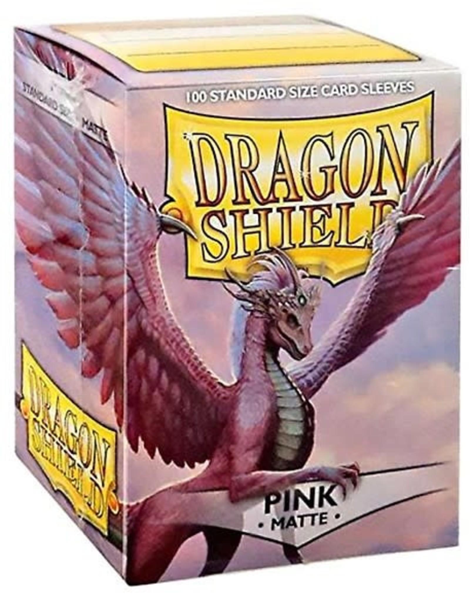 Arcane Tinmen Sleeves: Dragon Shield Matte (100) Pink