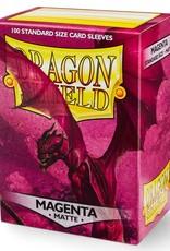 Arcane Tinmen Sleeves: Dragon Shield Matte (100) Magenta