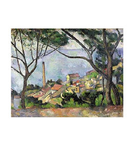 Ricordi View De L'Estaque Puzzle 1500 PCS (Cezanne)