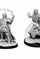 Wizkids D&D Nolzur's Unpainted Miniatures: Human Wizard Male v2