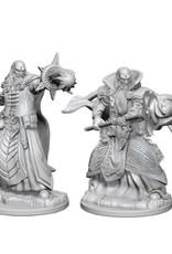 Wizkids D&D Nolzur's Unpainted Miniatures: Human Wizard Male v1