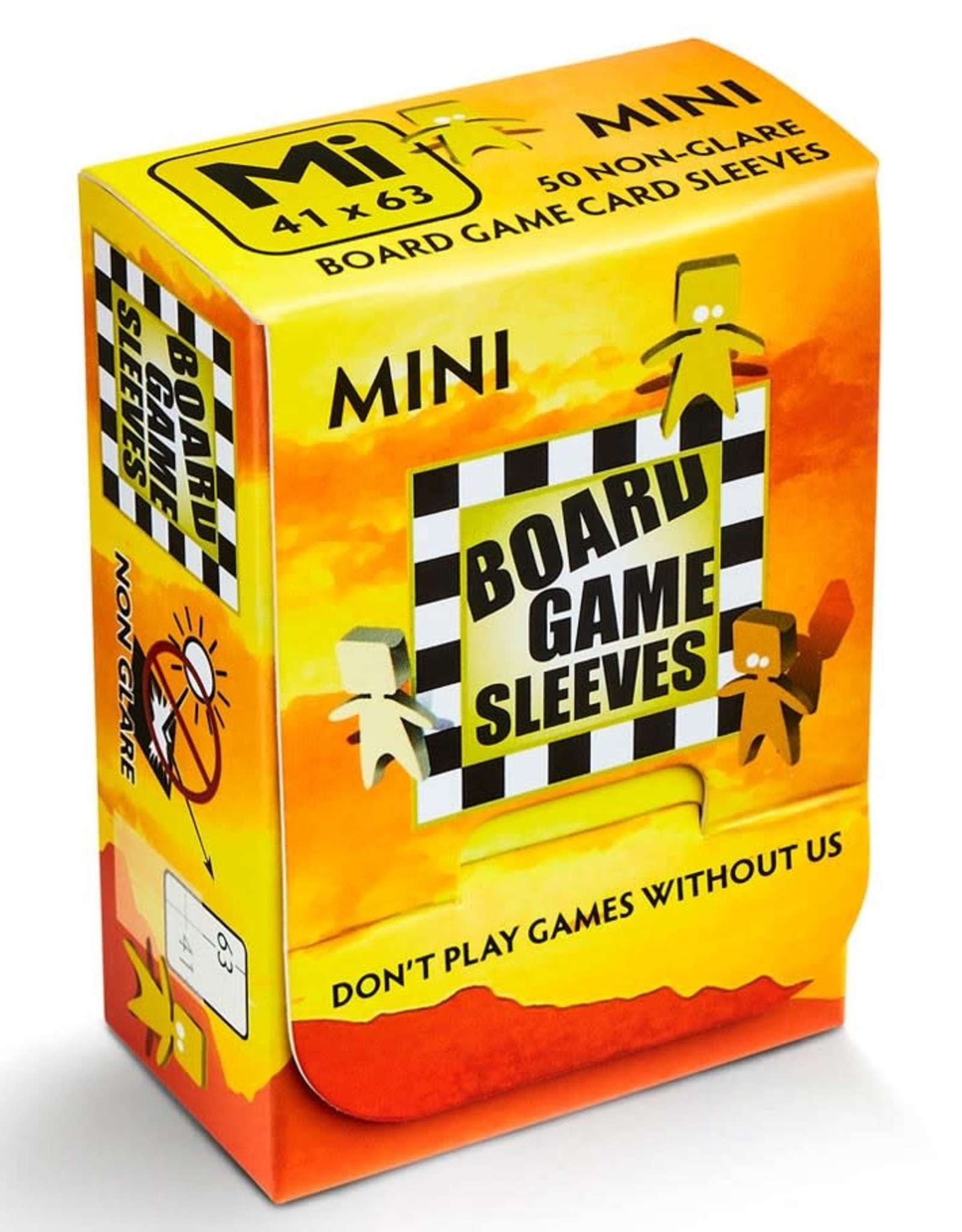 Arcane Tinmen Sleeves: No Glare Mini American Board Game Sleeves (50)
