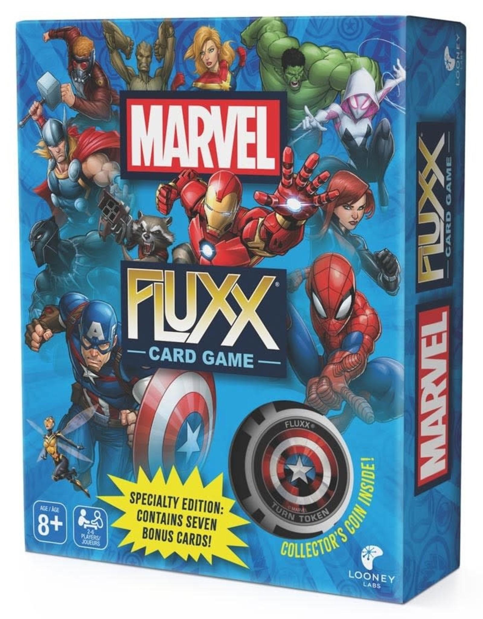 Looney Labs Marvel Fluxx Specialty Edition
