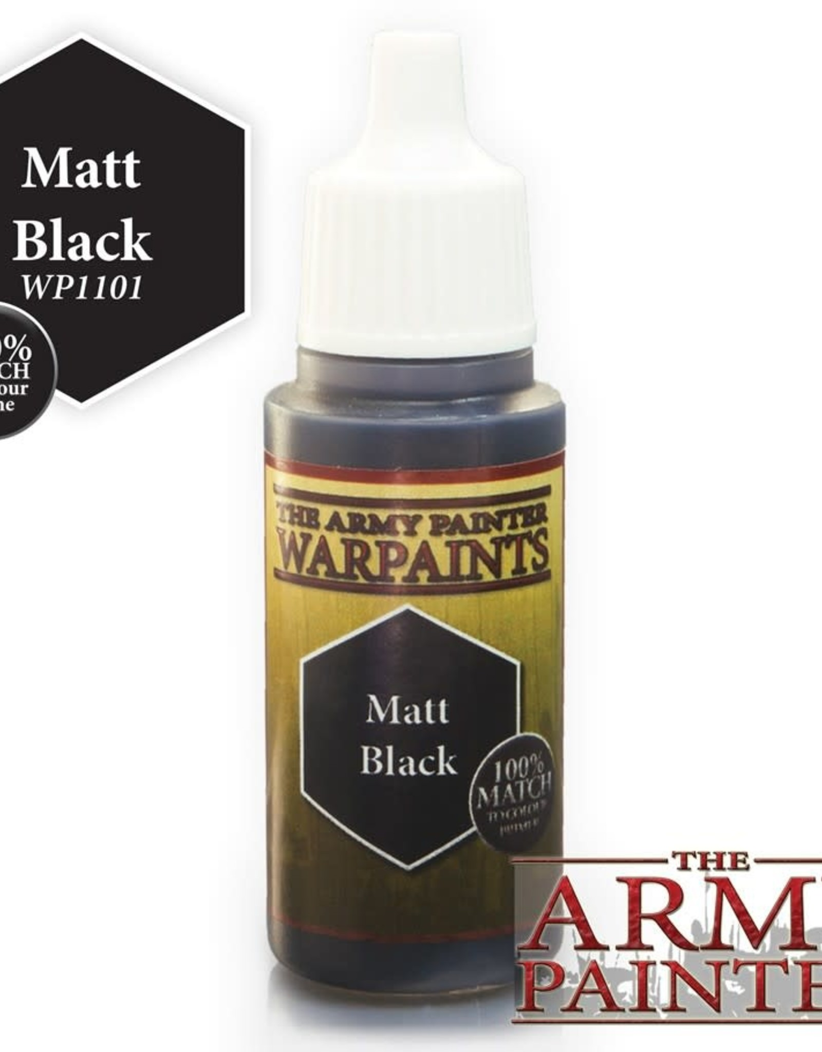 Warpaints: Matt Black 18ml