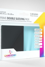 Prime Double Sleeving Pack: (80) Inner Sleeves and (80) Black Sleeves