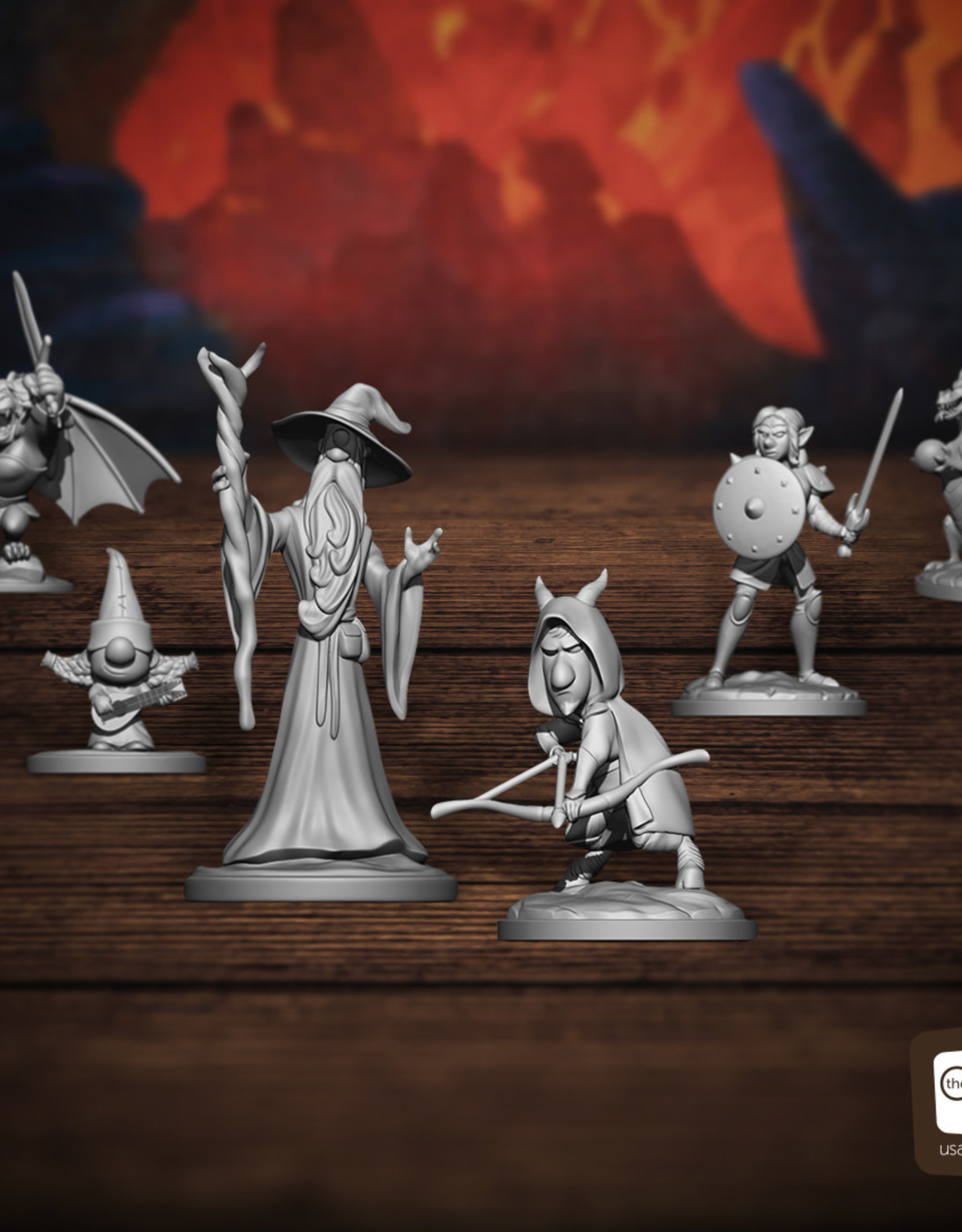 USAopoly Onward Quests of Yore (Pre-Order)
