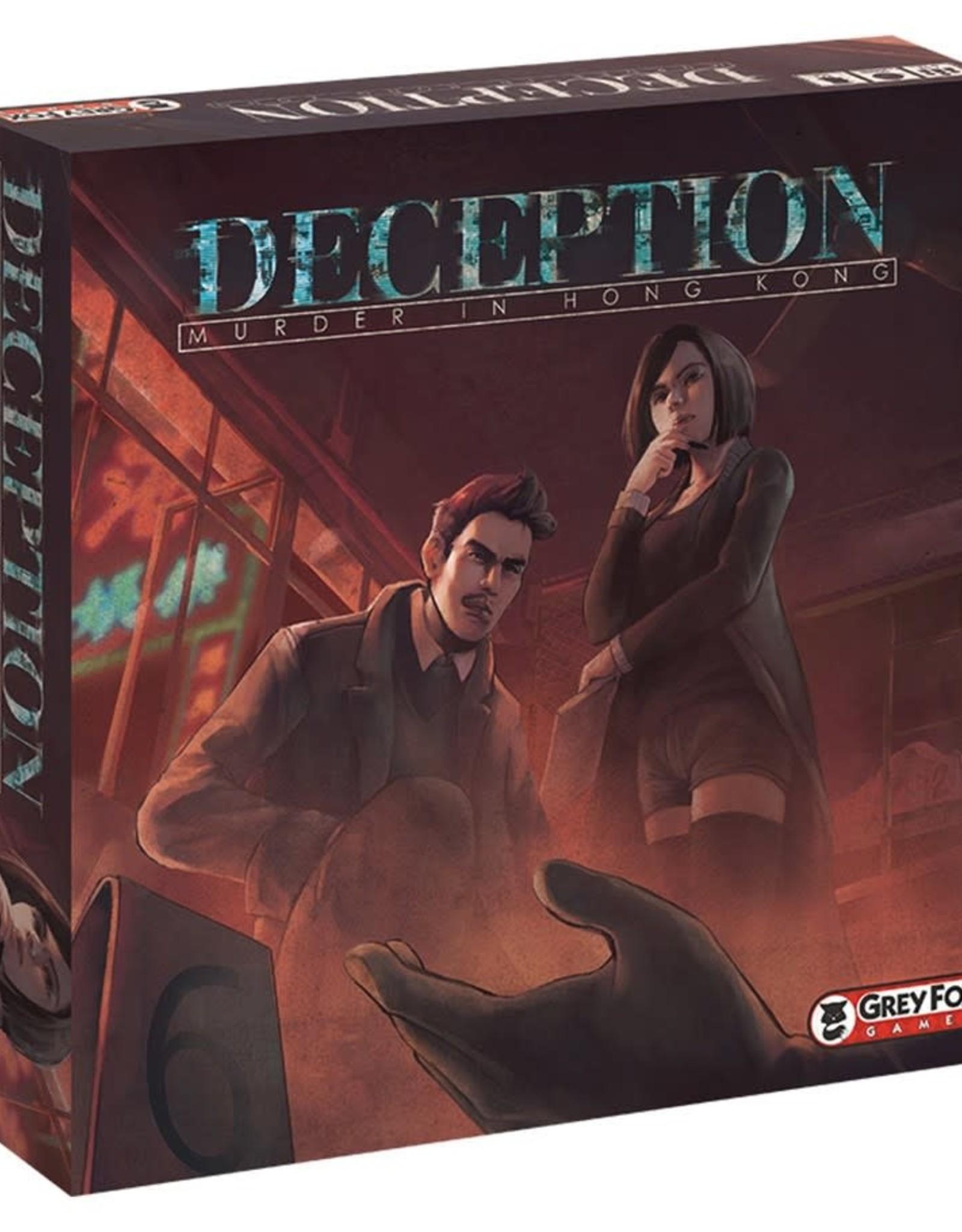 Grey Fox Games Deception: Murder in Hong Kong