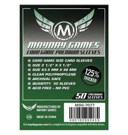 Mayday Games Sleeves: Mayday Premium Card Sleeves 63.5mm x 88mm Dark Green (50)
