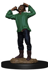 Wizkids D&D Unpainted Minis: Green Dragon Wyrmling & Afflicted Elf