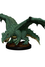 Wizkids D&D Unpainted Minis: Green Dragon Wyrmling & Afflicted Elf