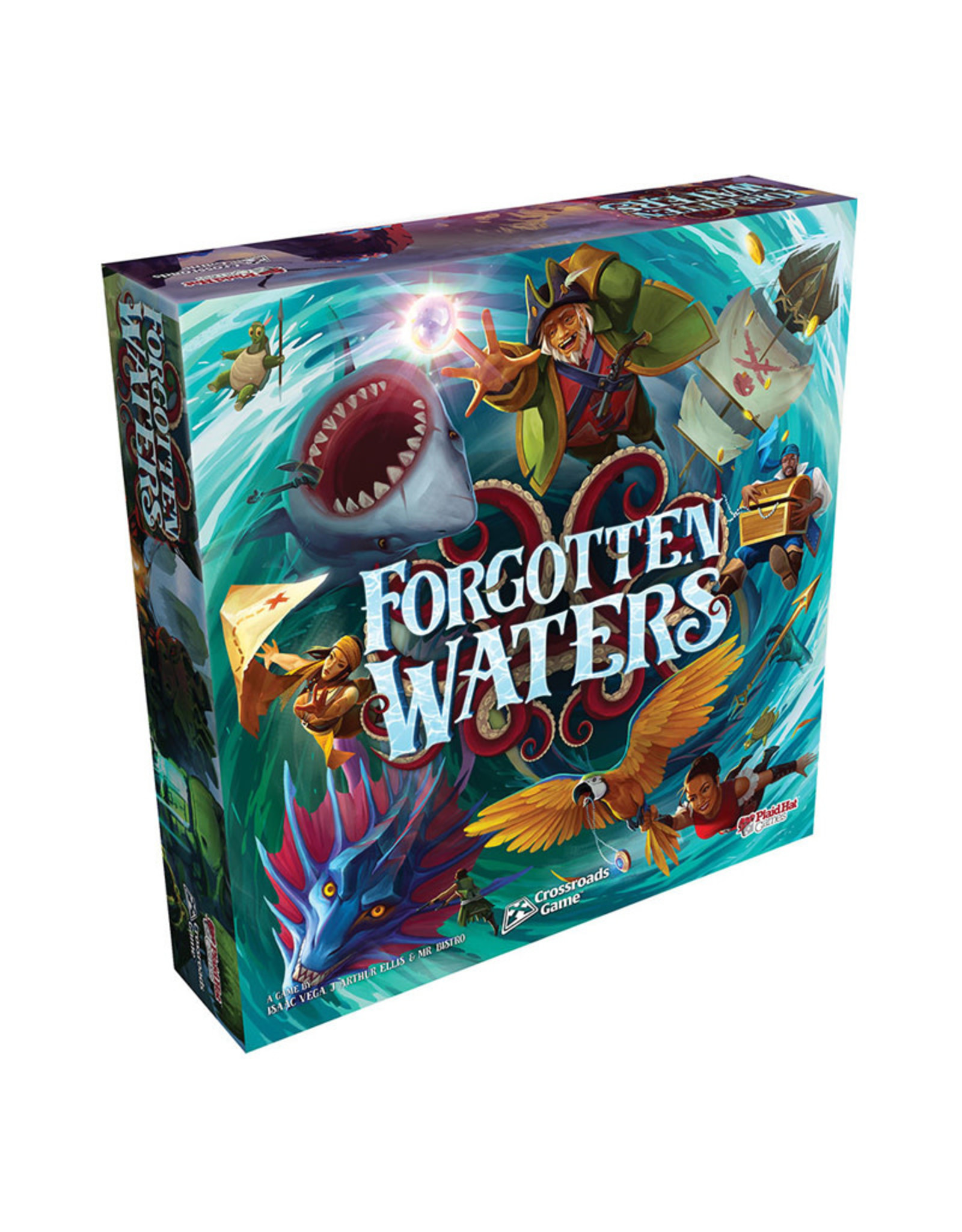 Plaid Hat Games Forgotten Waters: A Crossroads Games