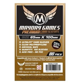 Mayday Games Sleeves: Mayday Premium Magnum Copper Sleeves 65mm x 100mm (7Wonders) (80)