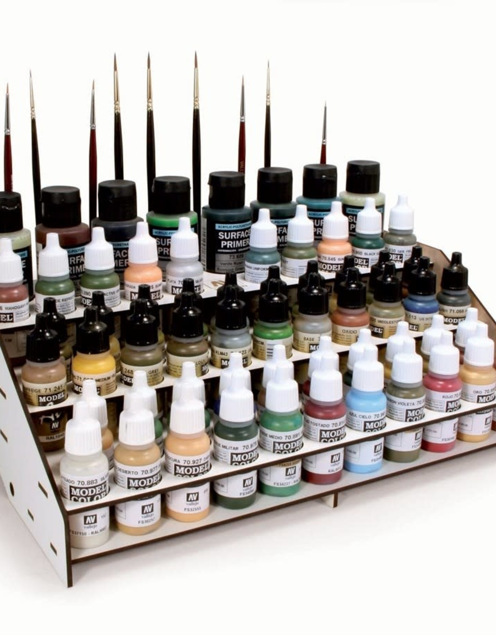 Vallejo Paint Stand: Vallejo/Army Painter Paints