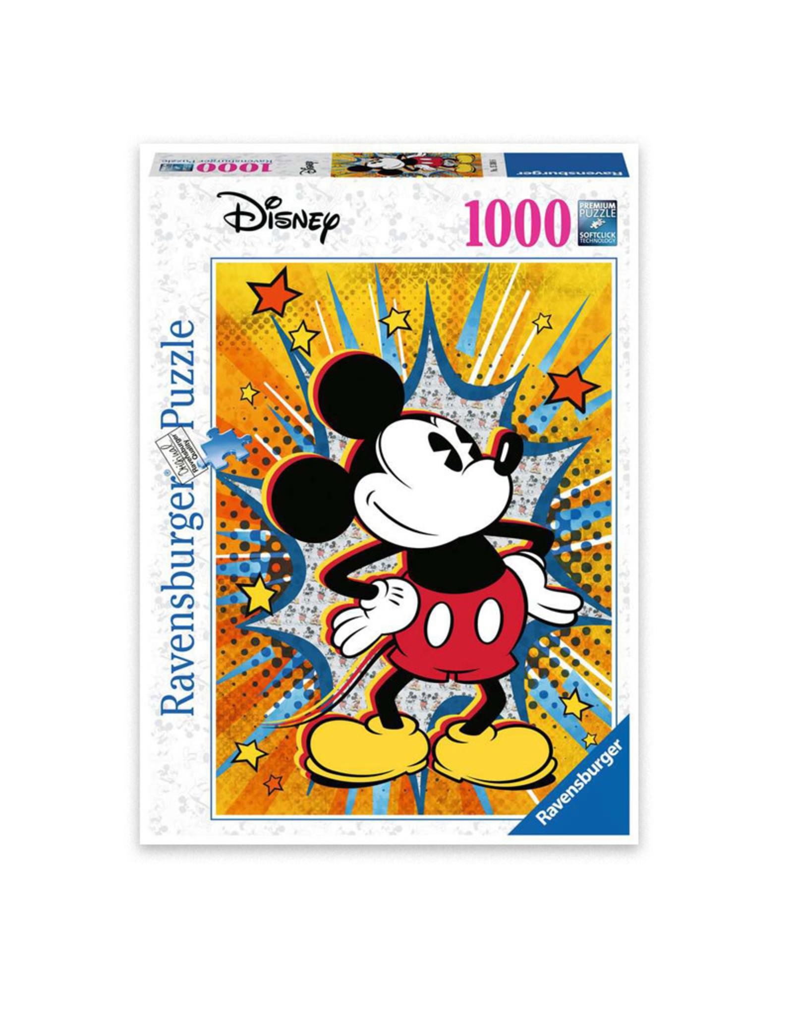 Ravensburger Disney Retro Mickey Mouse Puzzle 1000 PCS