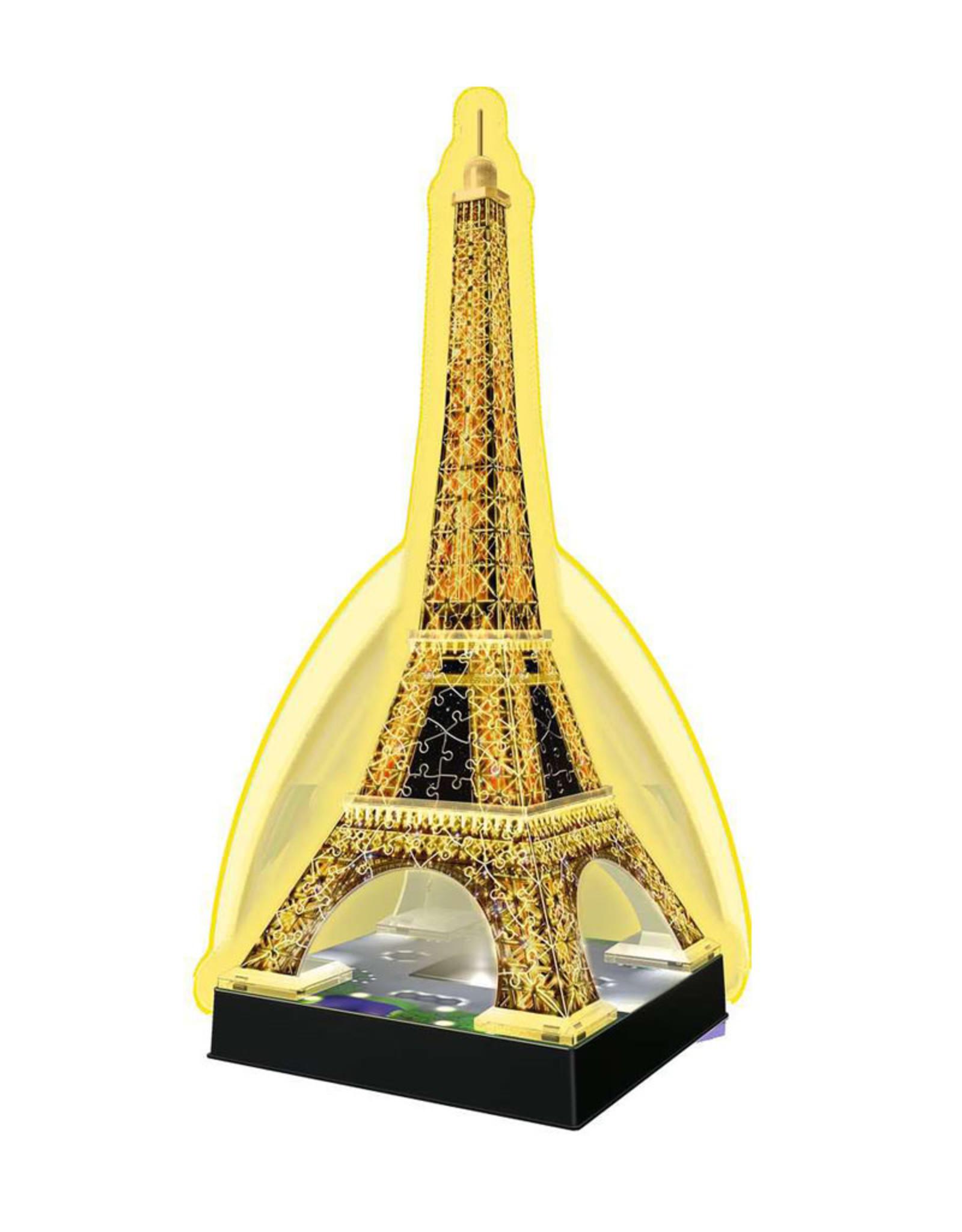 Ravensburger Eiffel Tower by Night  3D Puzzle 216 PCS