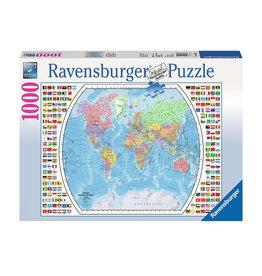 Ravensburger Political World Map Puzzle 1000 PCS