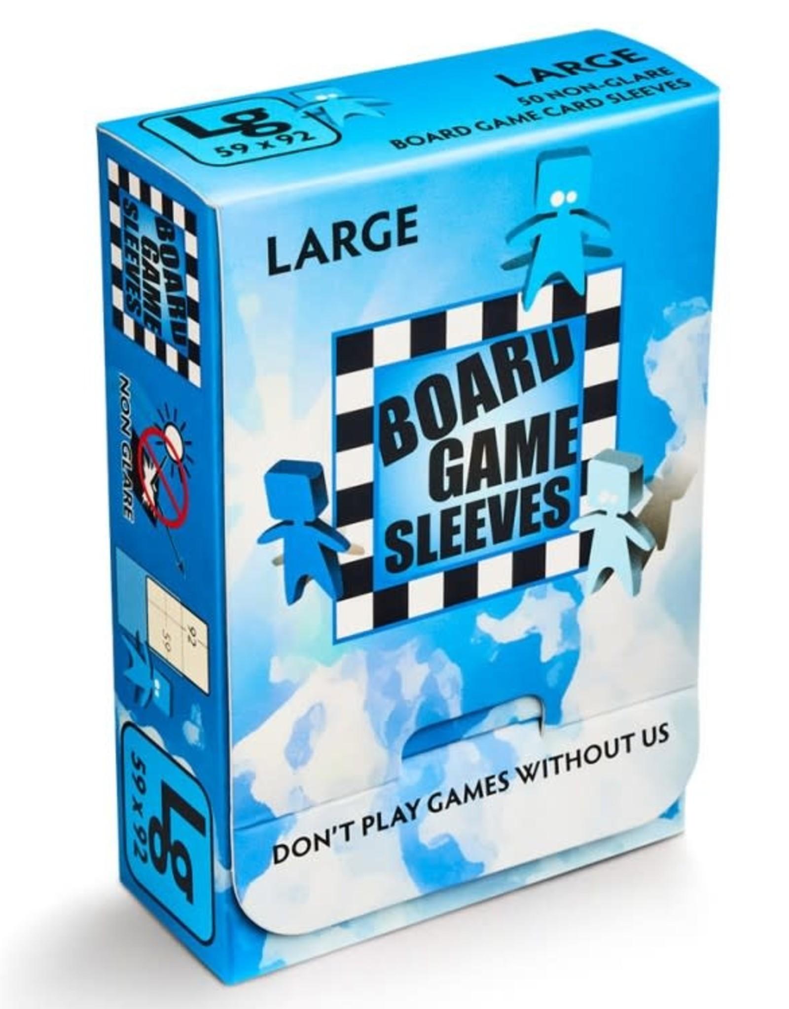 Arcane Tinmen Sleeves: No Glare Large Board Game Sleeves (50)