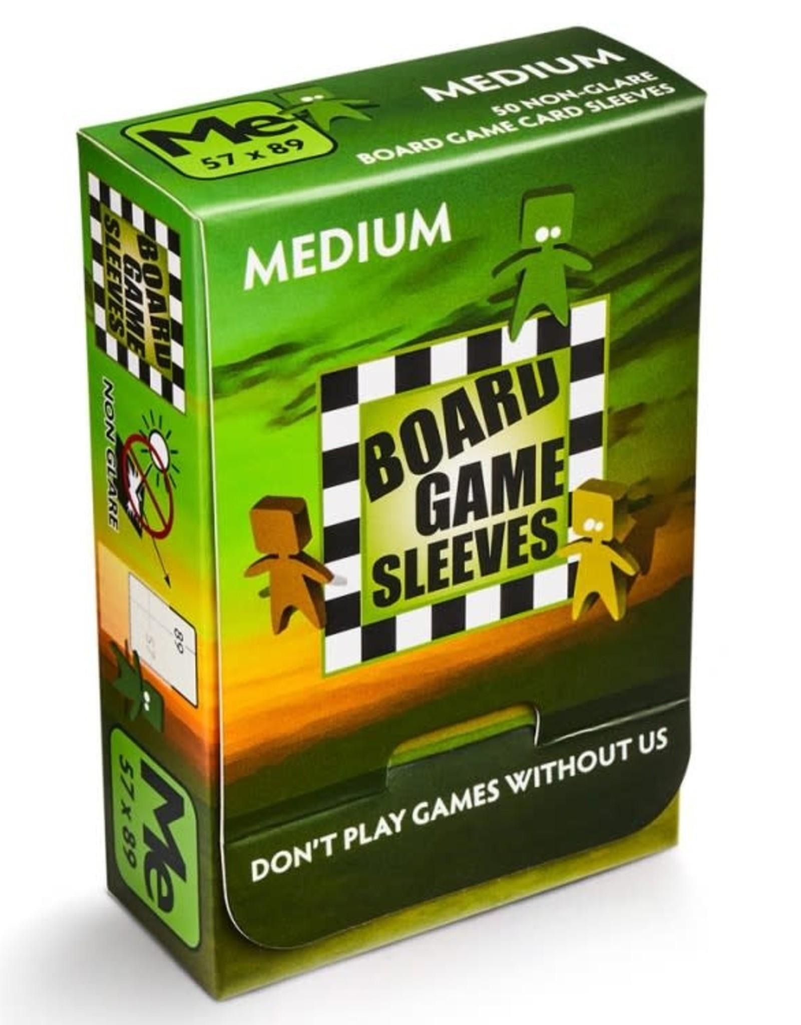 Arcane Tinmen No Glare Medium Board Game Sleeves 57x89mm (50)