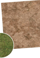 Monster Fight Club Monster Game Mat: 3x3 - Broken Grassland / Desert Scrubland