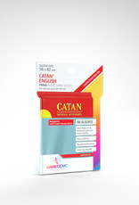 Prime Board Game Sleeves: Catan English 56mm x 82mm (50) (Red)